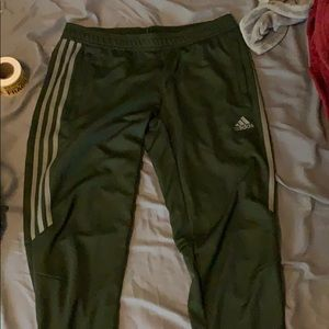 WORN ONCE!! Adidas Olive Green Size M!!